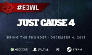Just Cause 4 à l'E3 2018