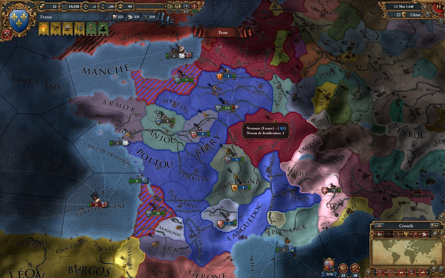 Как сделать революционную францию в европа 4