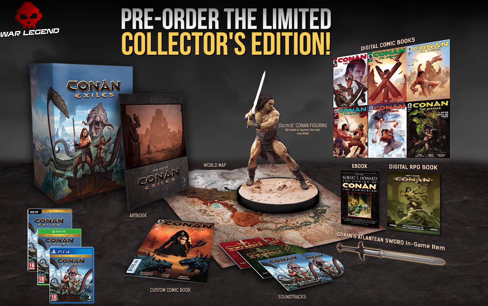 Une date de sortie et une édition Collector — Conan Exiles