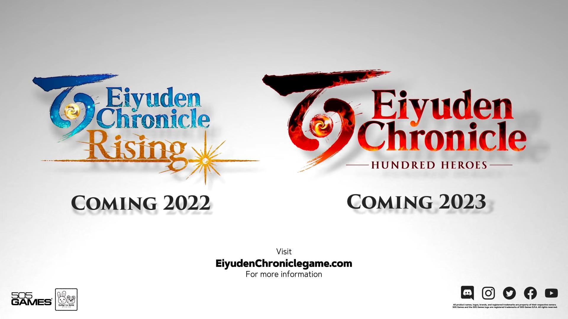 Eiyuden Chronicle Hundred Heroes Announcement Trailer