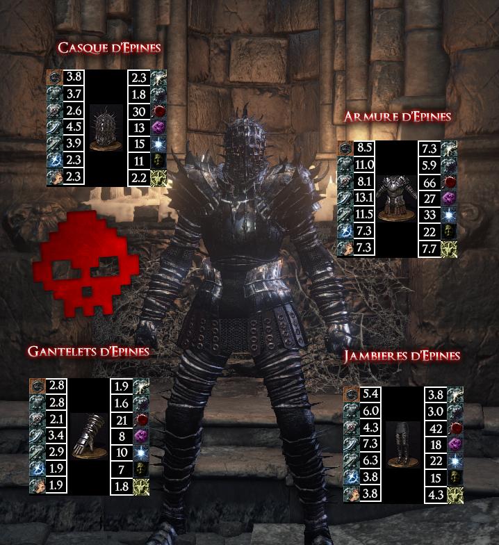 Epines Dark Souls III WAR LEGEND copie