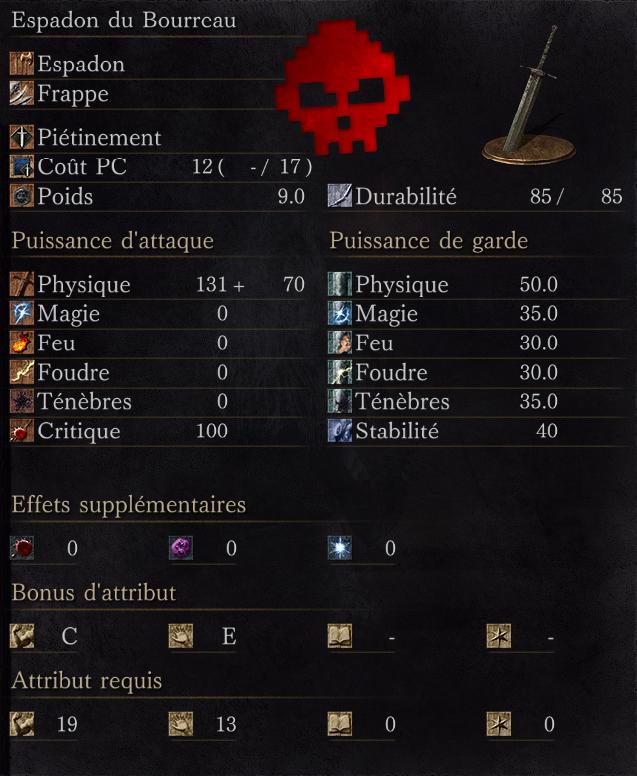 Espadon du Bourreau
