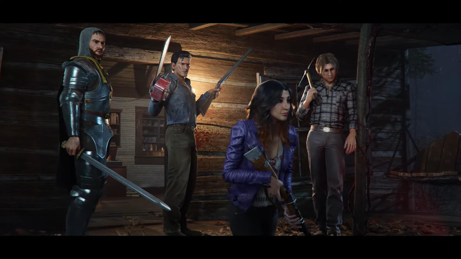 Evil Dead the game reveal trailer