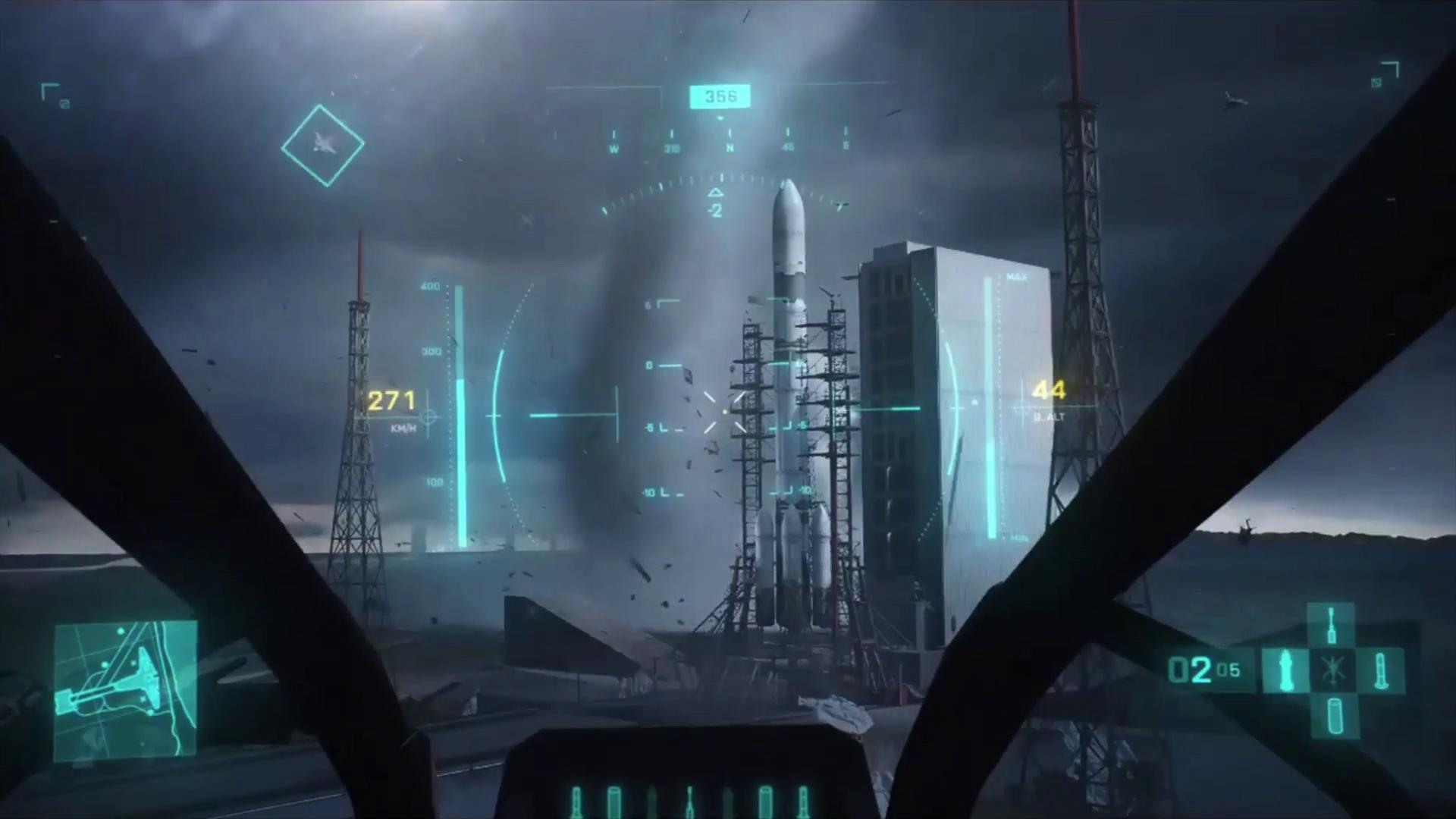 fuite screenshot Battlefield 6 vue cockpit