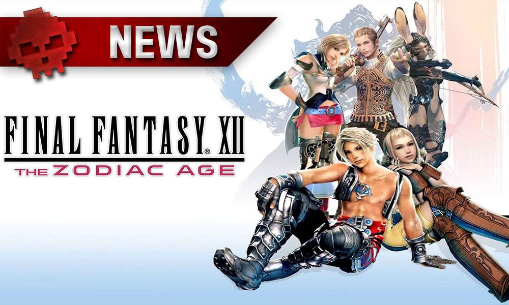 Final Fantasy XII - Le remaster a sa date de sortie Personnages du volet