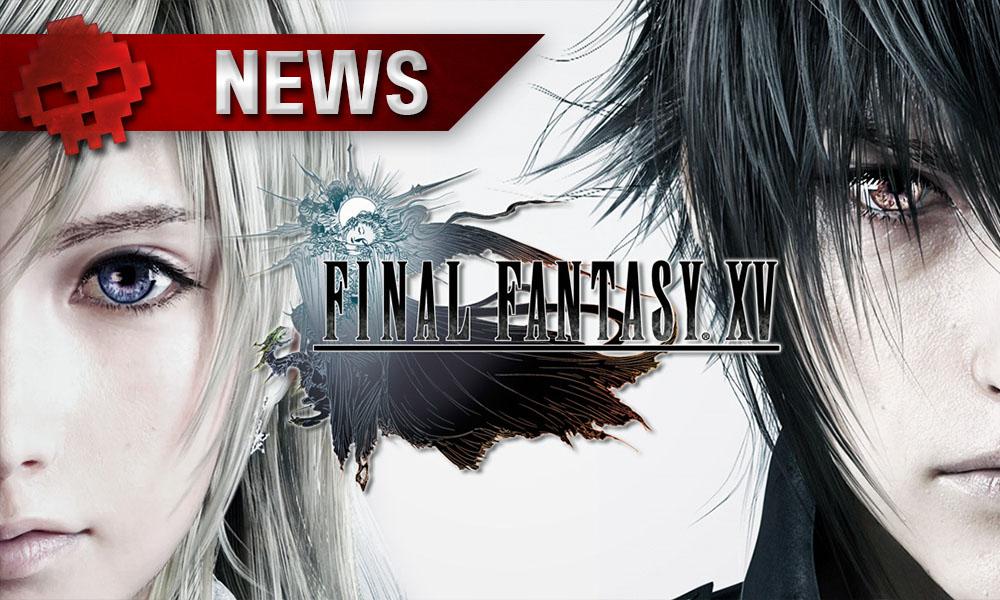 Final Fantasy XV - La première extension a sa date de sortie - personnages du jeu Lunafreya et Noctis