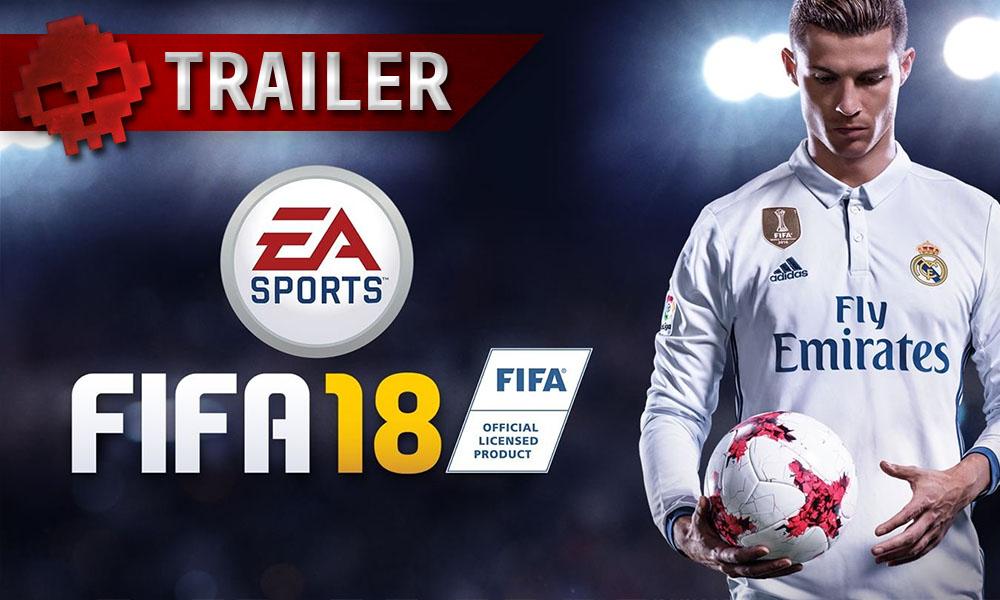 FIFA 18 - Une nouvelle bande-annonce pour le roi du ballon rond - Logo