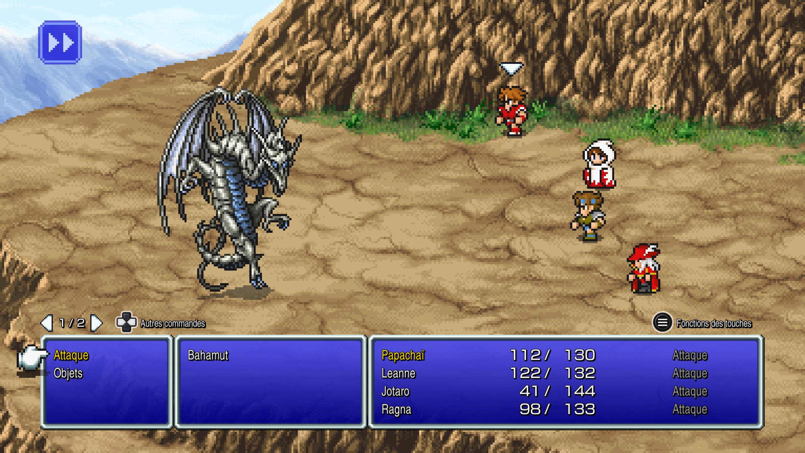 Final Fantasy III Bahamut