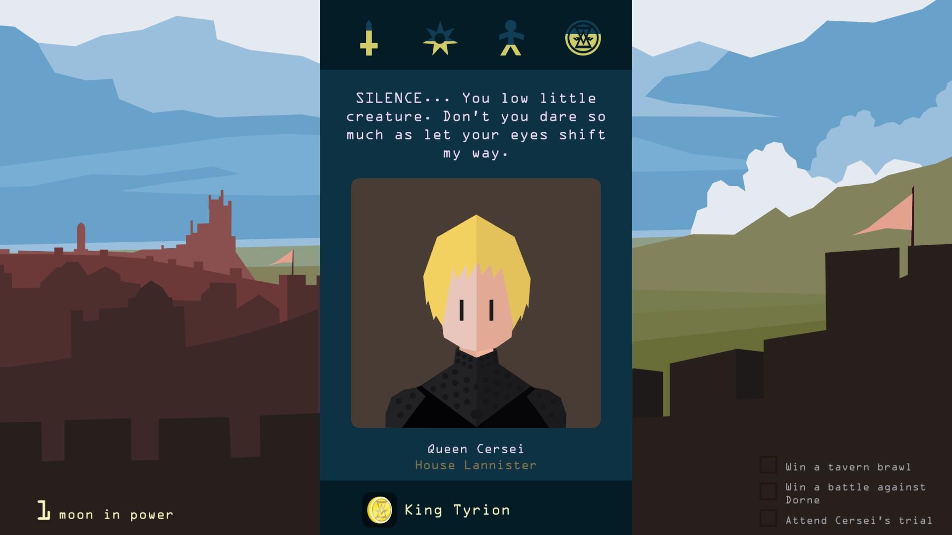 Cersei ne vous aime pas