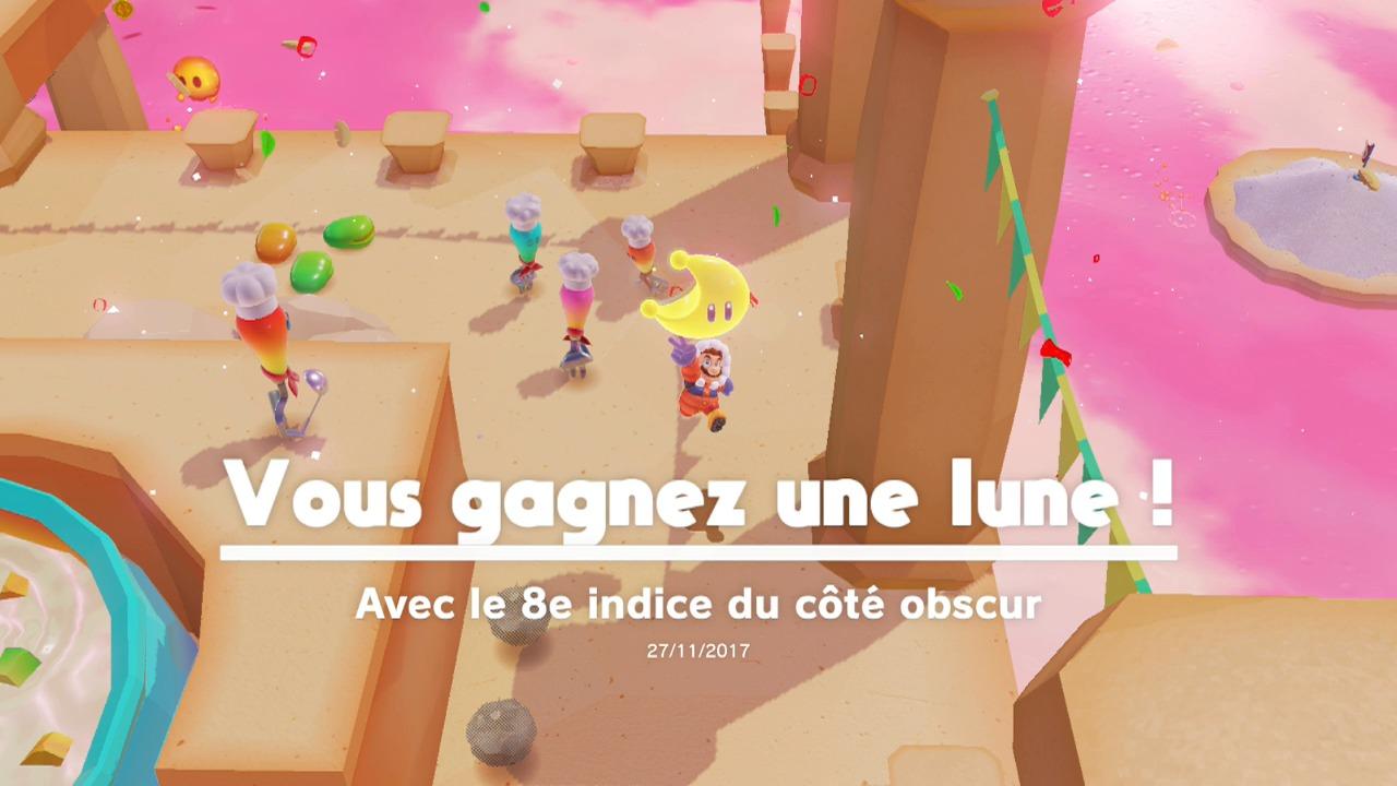 Soluce Super Mario Odyssey Les Lunes Cote Obscur