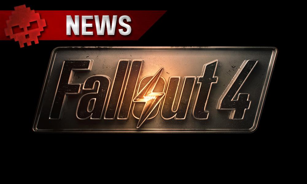 Fallout 4 - Le patch de haute résolution demande 58 Go logo jeu