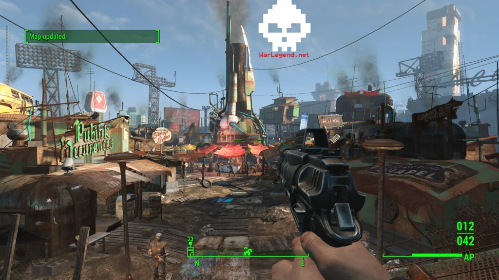 Fallout diamond city