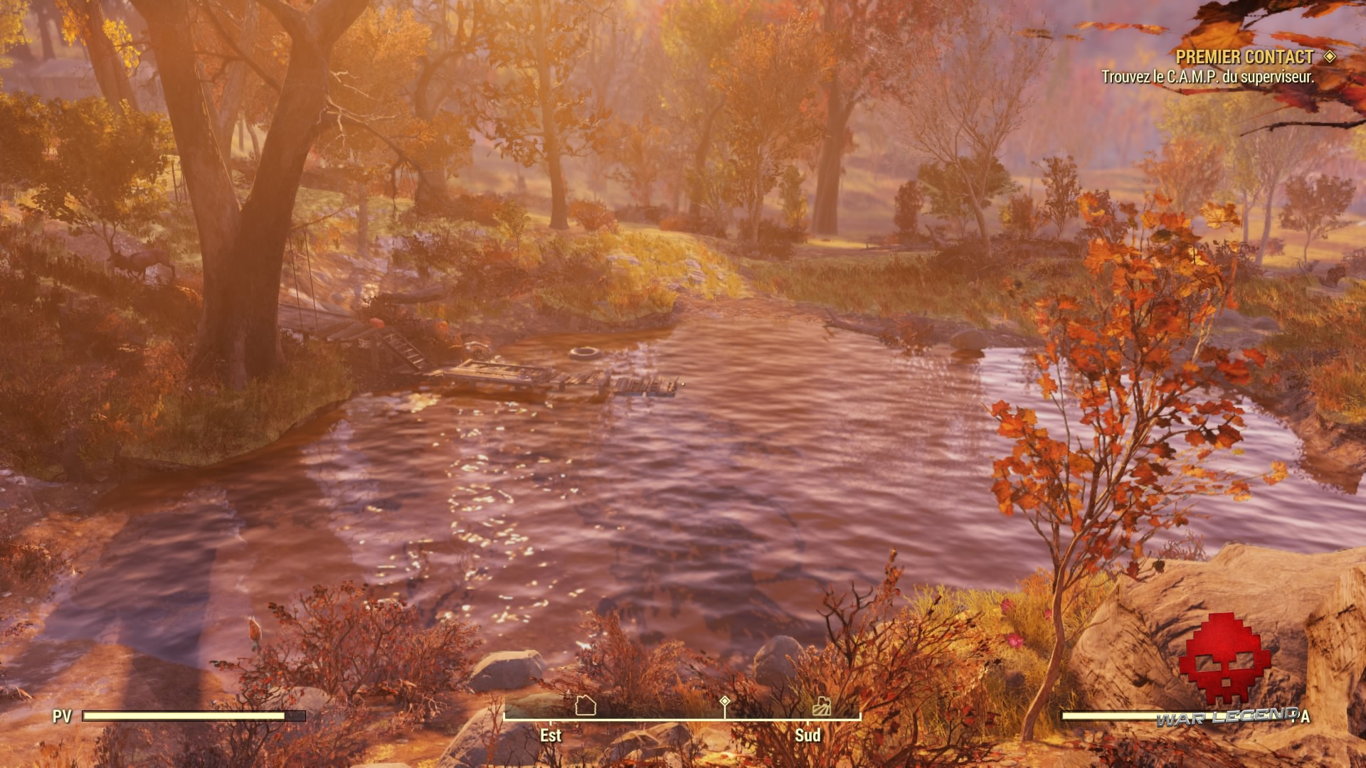 Fallout 76 un lac