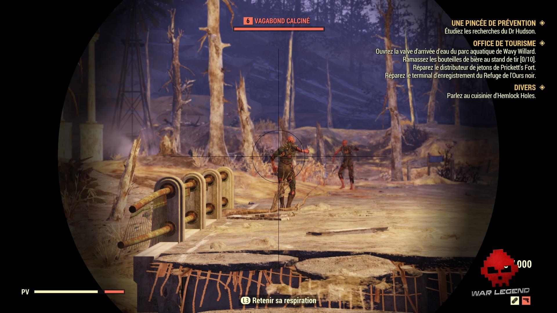 Fallout 76 des calcinés
