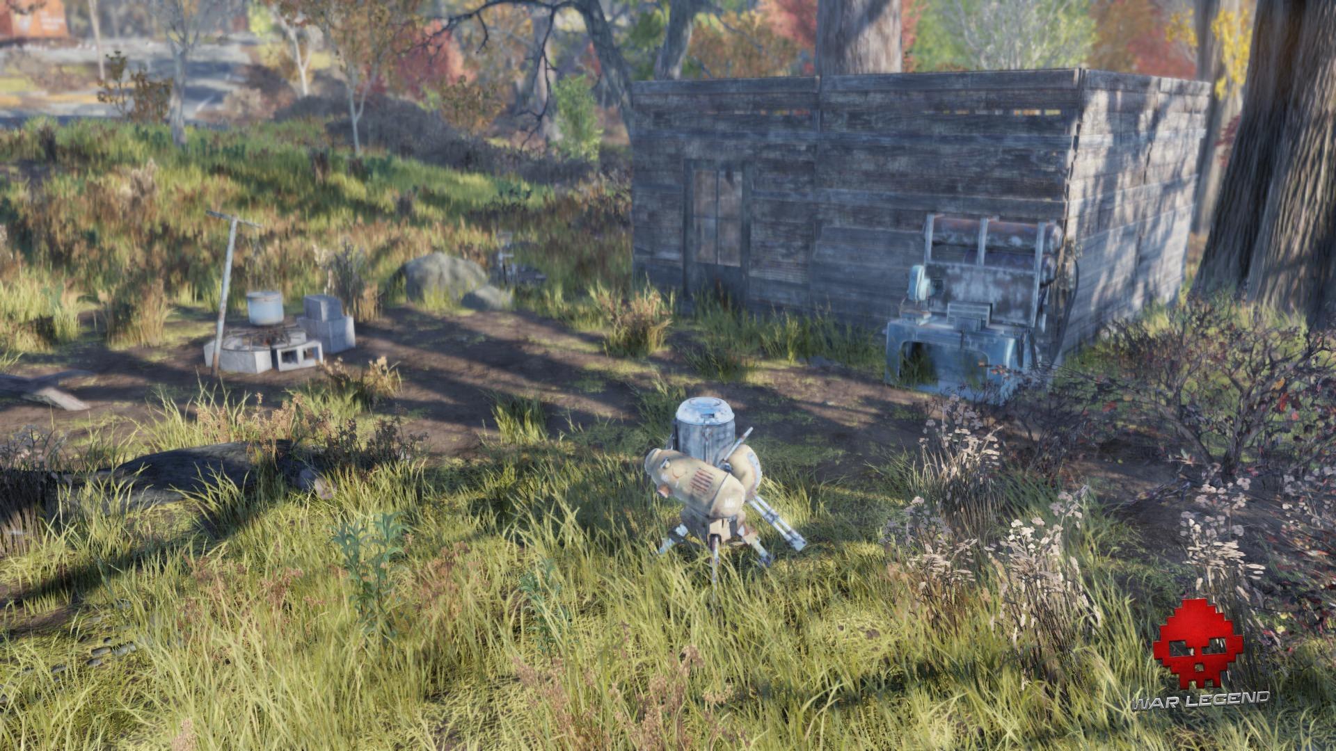 Fallout 76 le camp