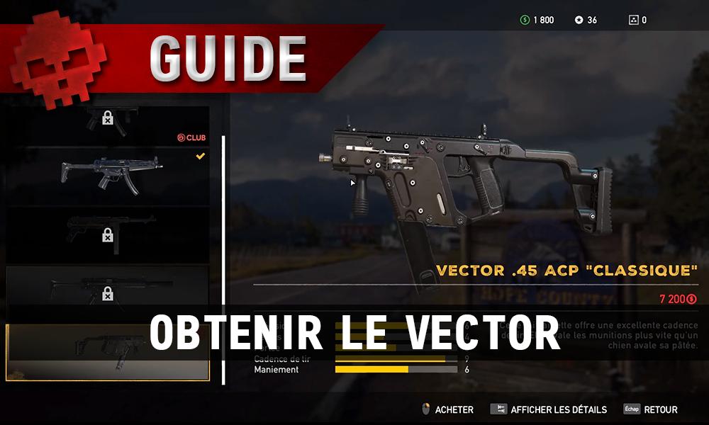Le Vector de Far Cry 5