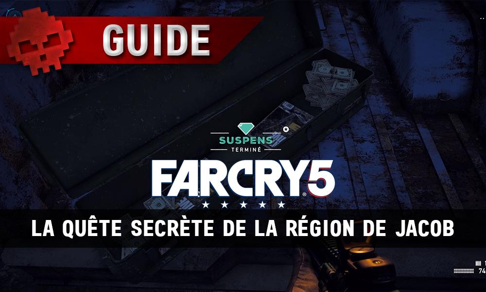 Far Cry 5 - La récompense de la quête secrète de la région de Jacob
