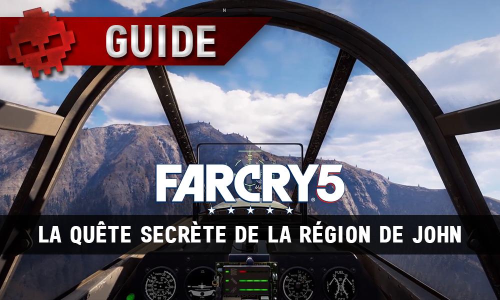 """Far Cry 5 - Le panneau """"Yes"""" dans la région de John"""