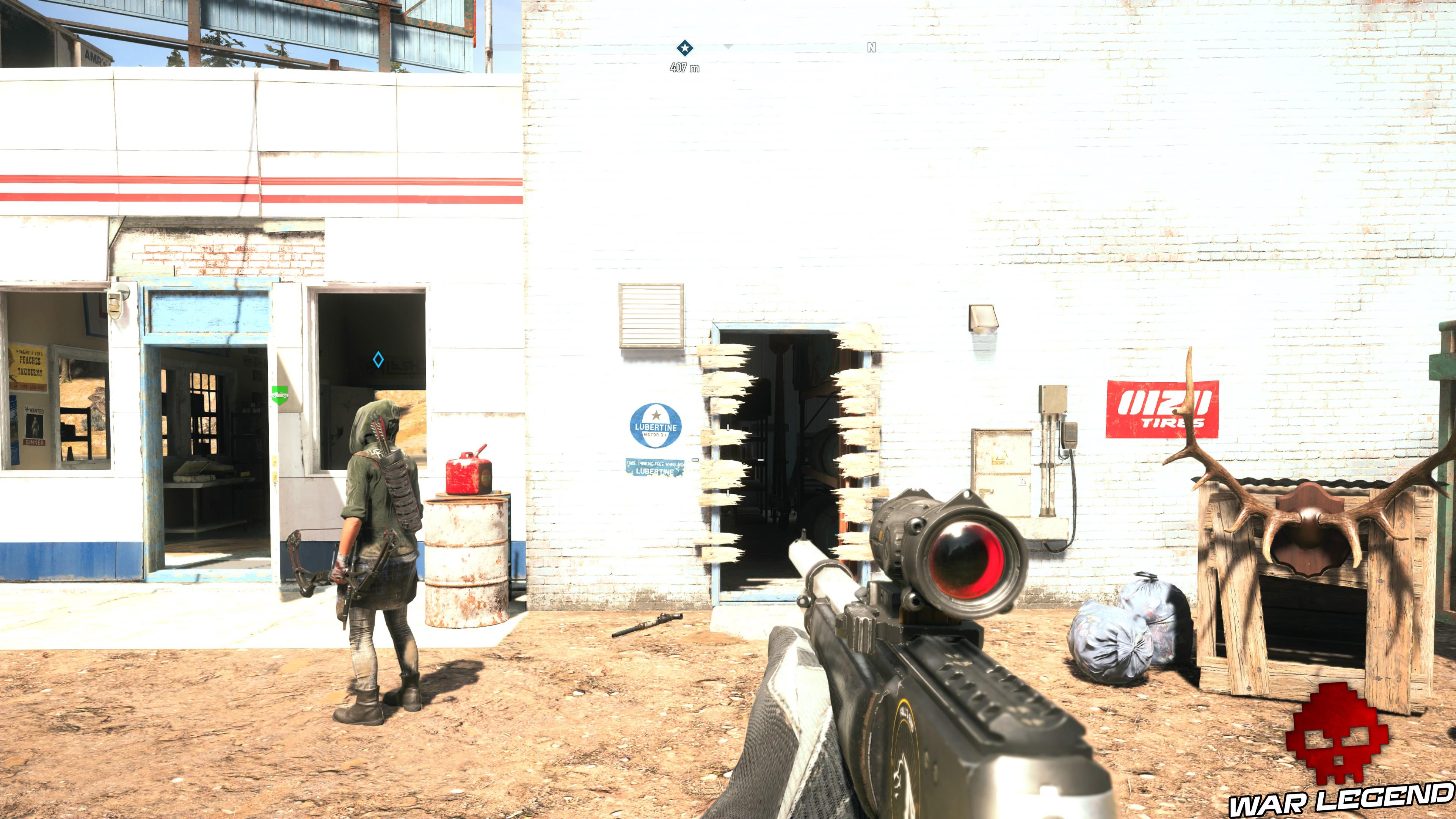 Guide Far Cry 5 - Les caches de survivaliste de la région de Faith (Henbane River) trou planches