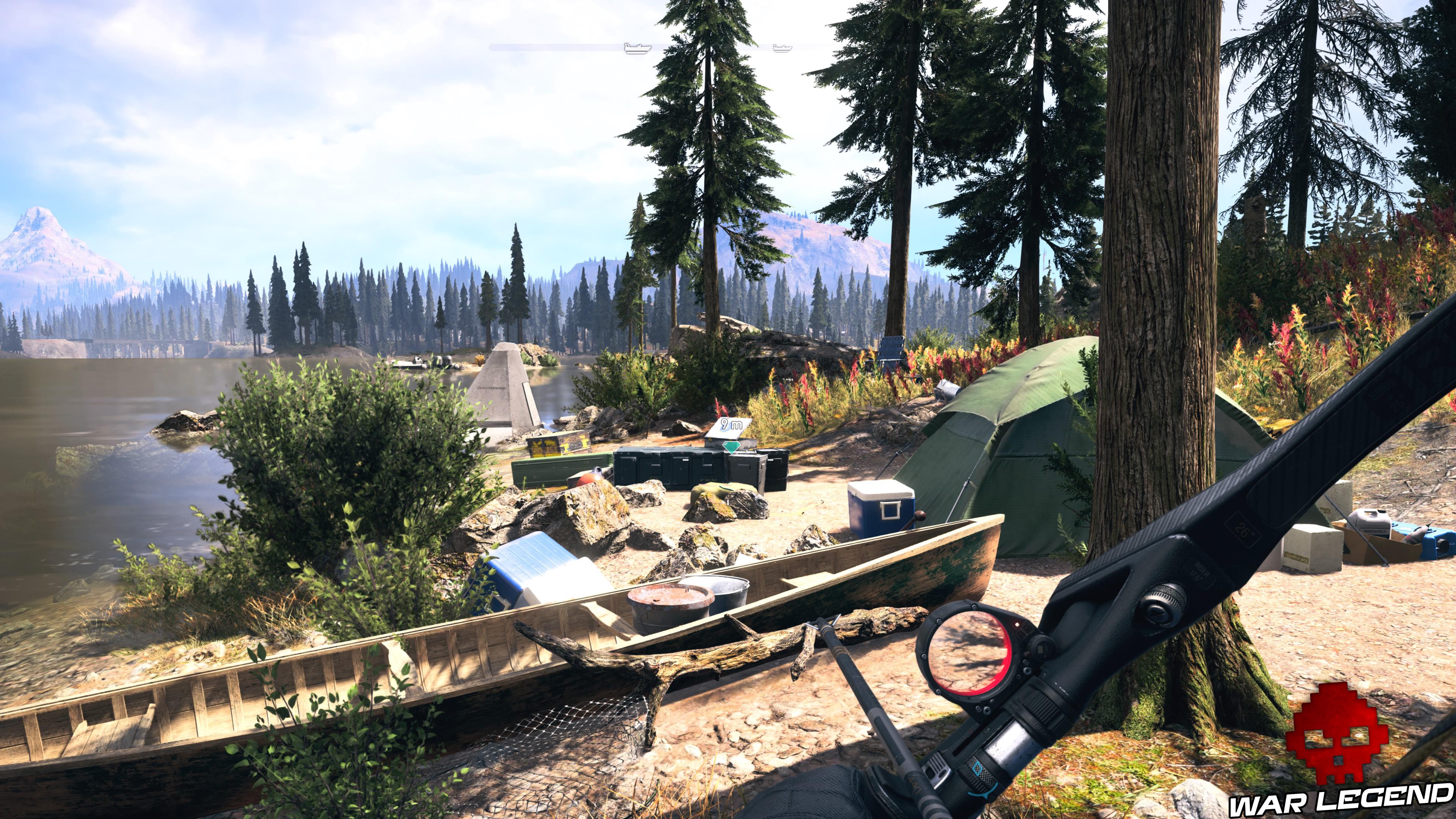 Guide Far Cry 5 - Les caches de survivaliste de la région de Jacob (Whitetail Mountains) tente récupération