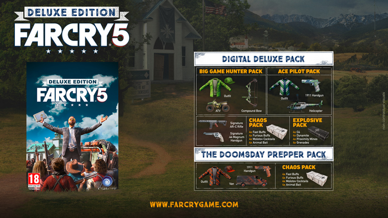 Far Cry 5 sera jouable en coop !