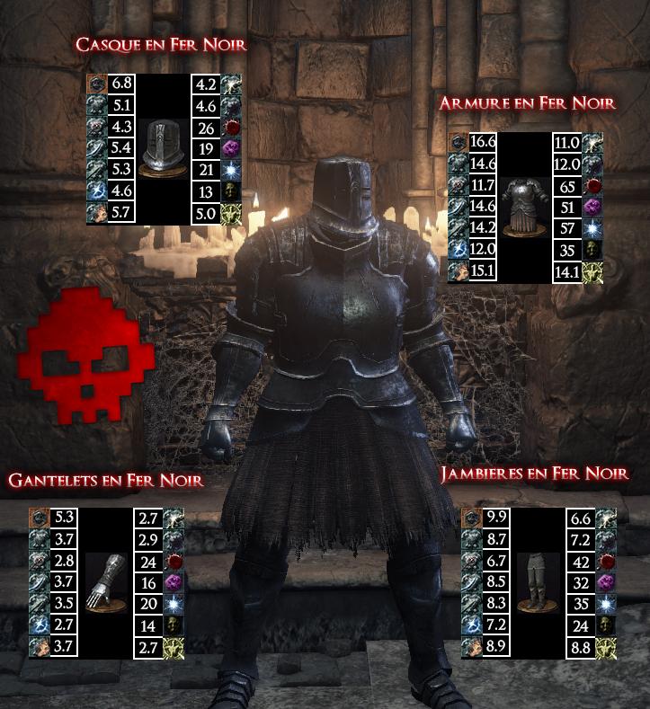 Fer Noir Dark Souls III WAR LEGEND copie