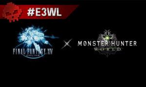 Logo FF 14 x Logo MH World