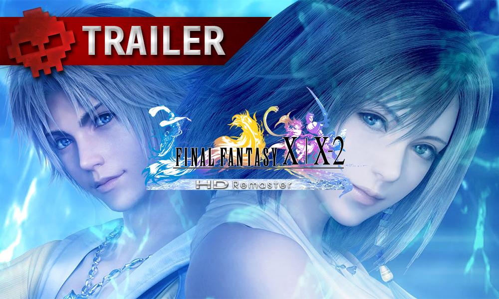Tidus et Yuna de Final Fantasy X et X-2