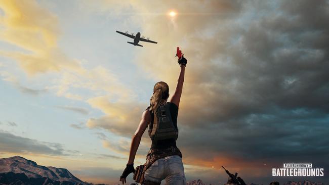 Tir de pistolet de détresse en direction d'un avion