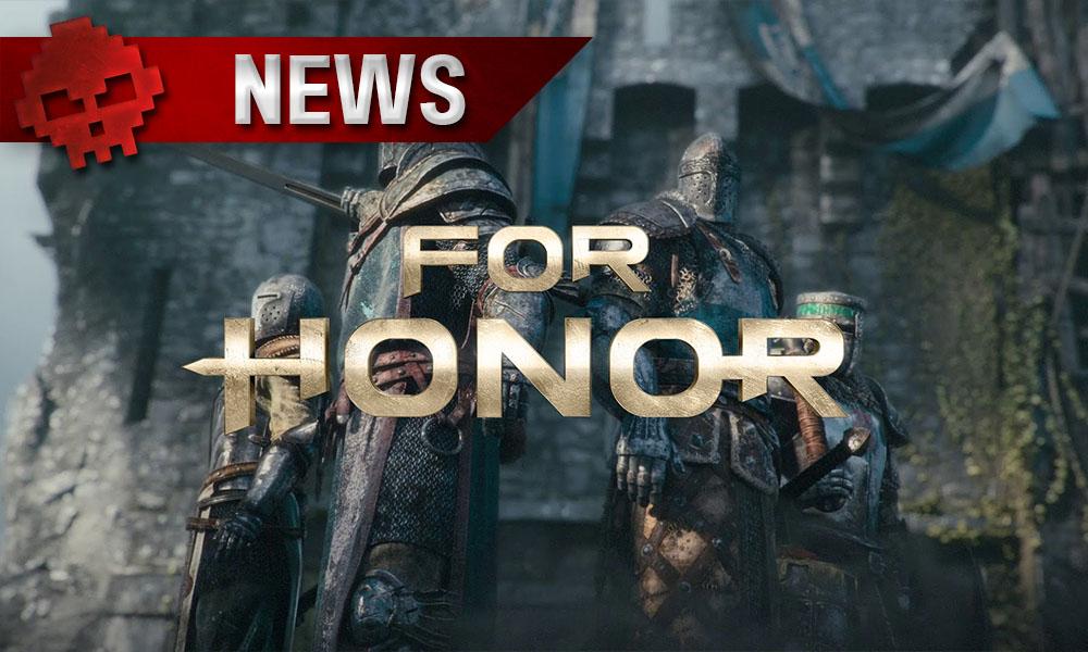 For Honor - Un patch sur PC débarque aujourd'hui quatre chevaliers devant une foteresse