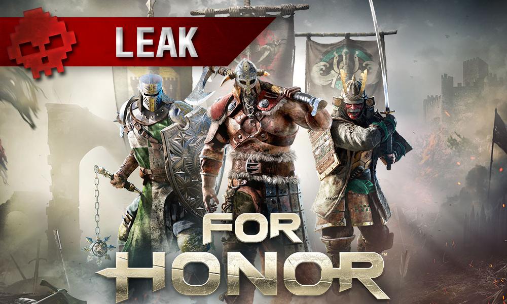 For Honor - Un testeur alpha dénonce un matchmaking lamentable viking chevalier et samurai