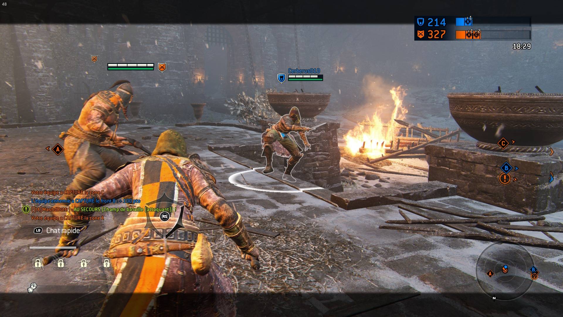 Test For Honor combat