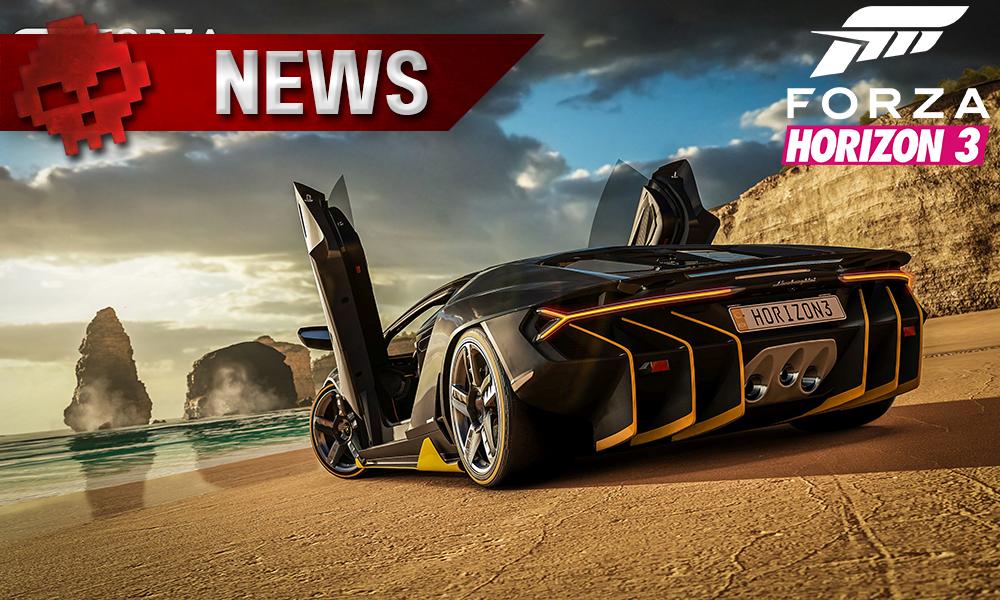 Forza Horizon 3 - L'extension Blizzard Mountain annoncée