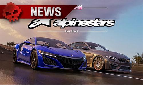 Pack Alpinestars pour Forza Horizon 3