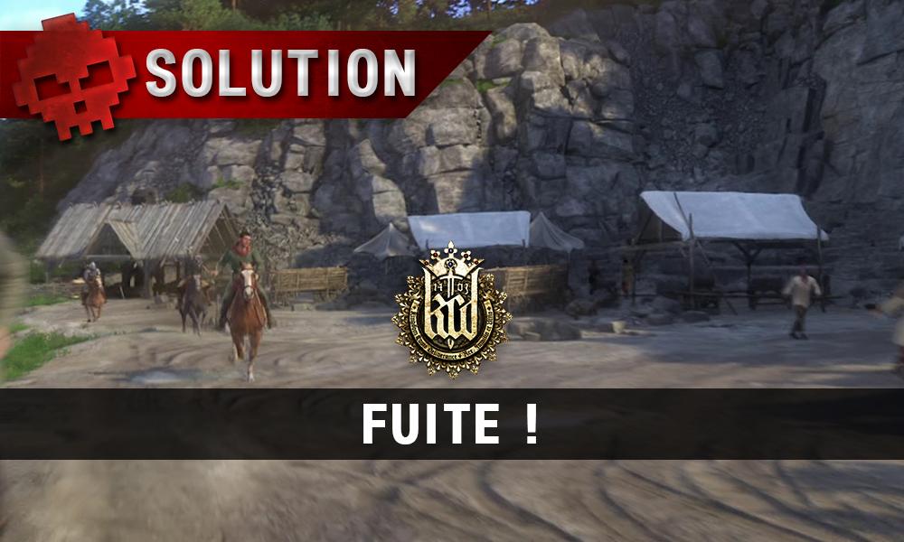 Fuite! Kingdom Come vignette