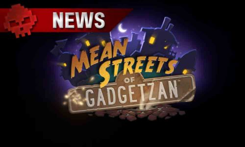 "extension ""Mean streets of Gadgetzan"" pour Hearthsone"