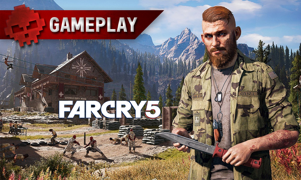 Gameplay Far Cry 5 vignette Jacob
