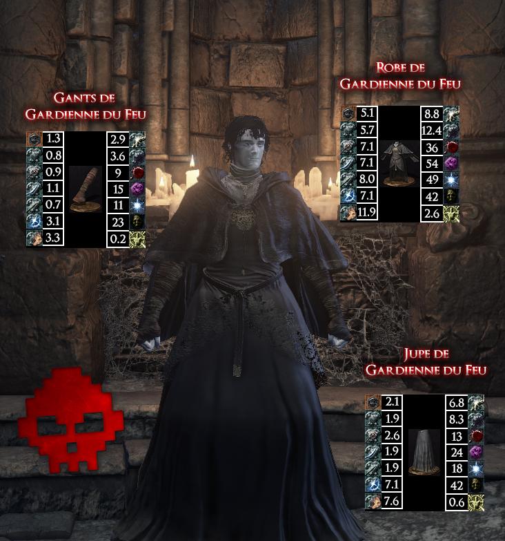 Gardienne du Feu Dark Souls III WAR LEGEND copie