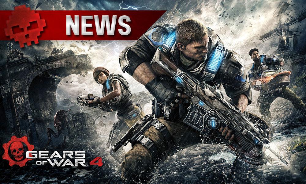 Gears of War 4 - Le Contenu du dernier patch Personnages de la saga