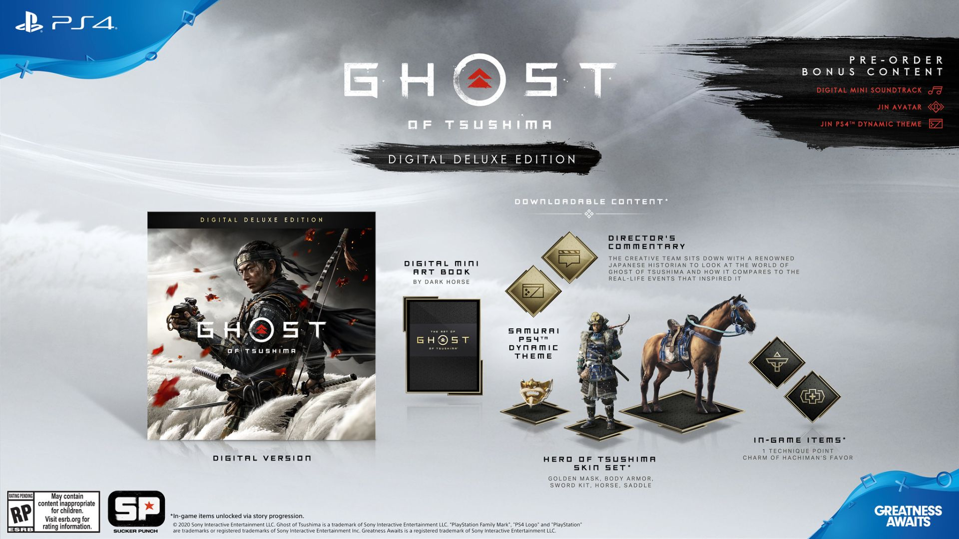 Ghost of tsushima deluxe edition