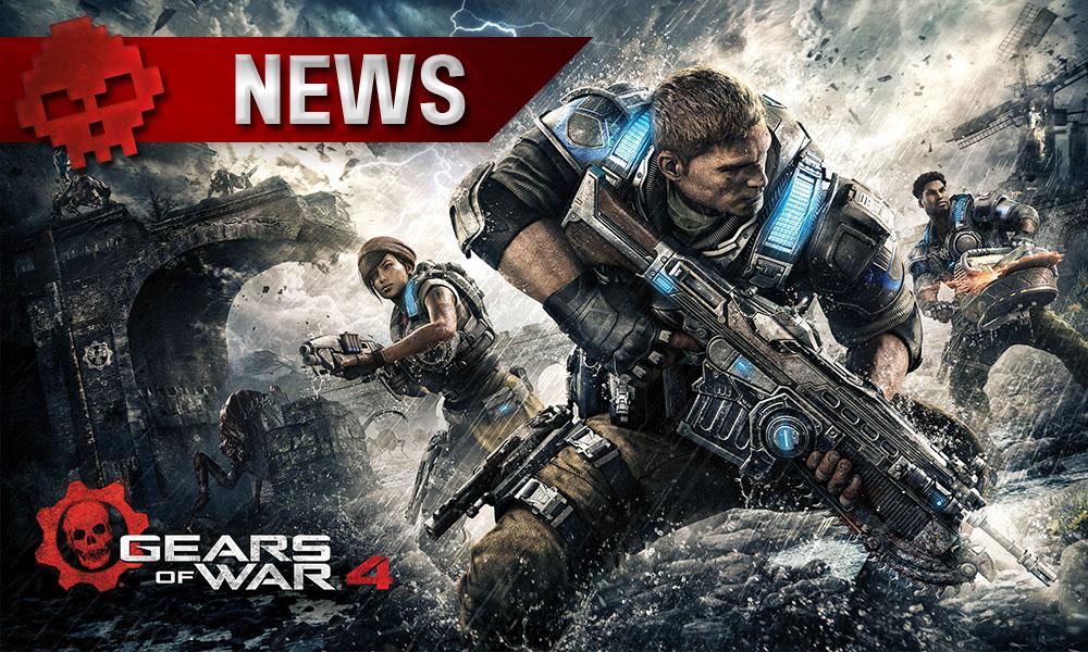 Gears of War 4 - Le crossplay à l'honneur pour ce week-end