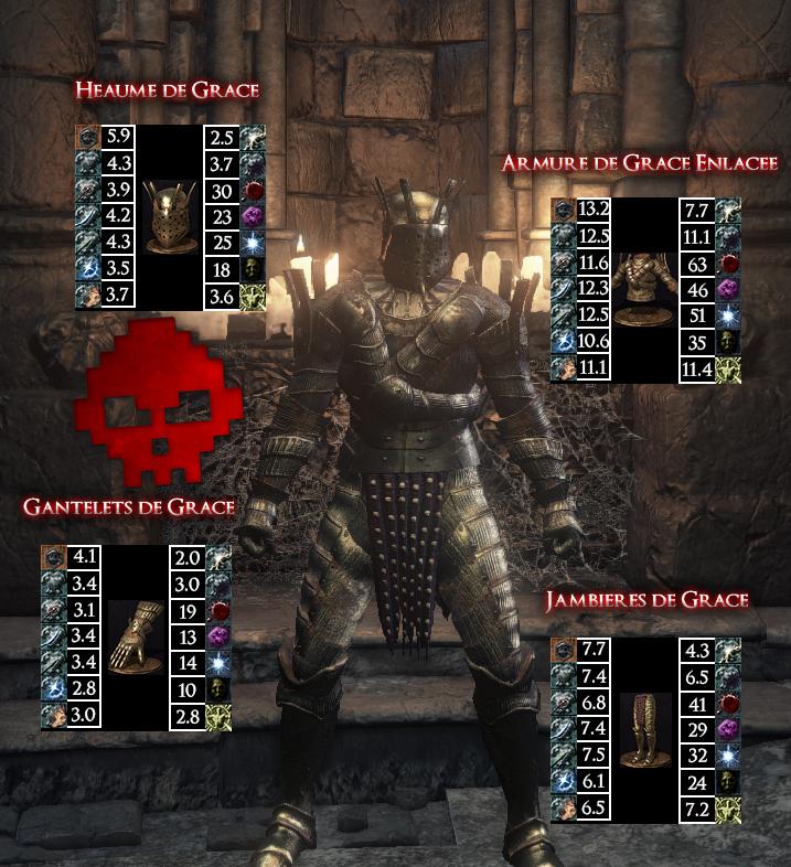 Grâce Dark Souls III WAR LEGEND copie