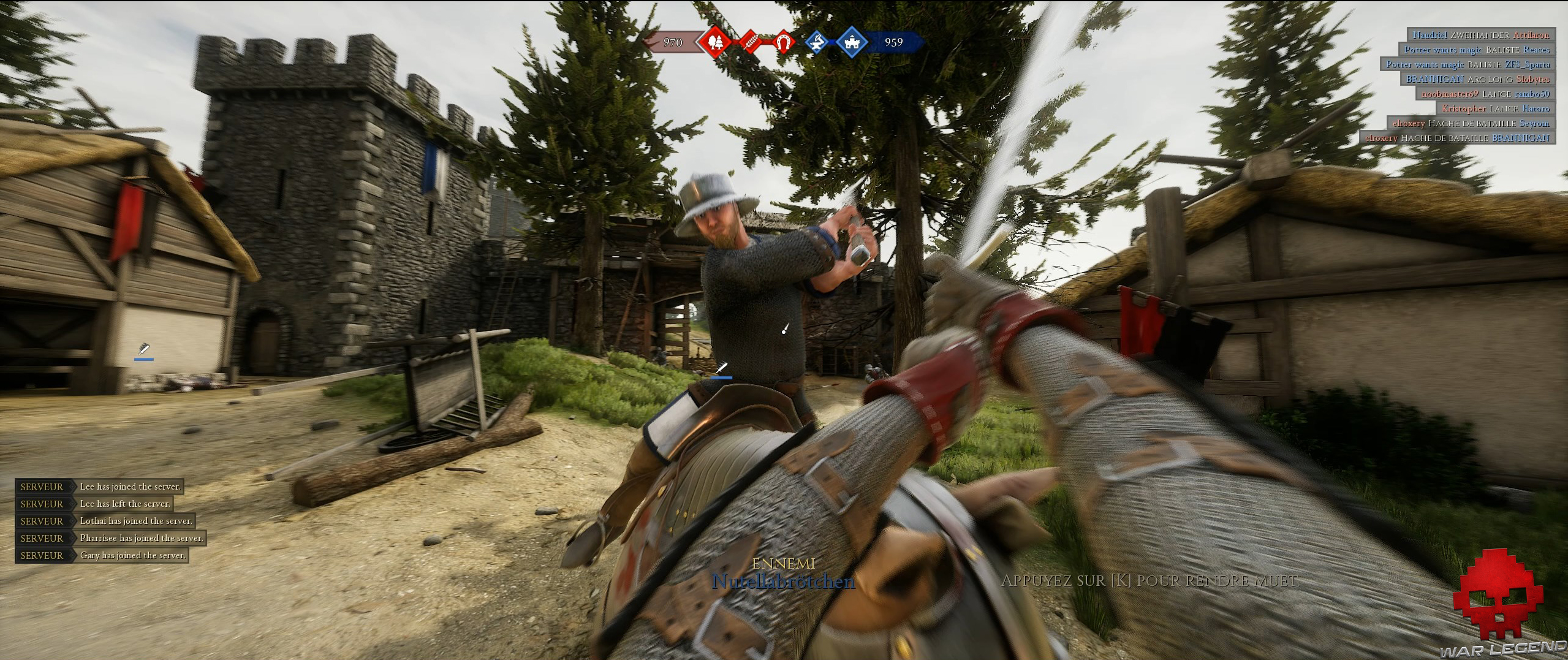 Guide épée mordhau