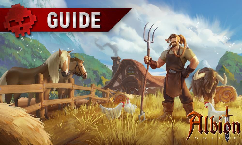 Guide Albion Online Agriculture War Legend