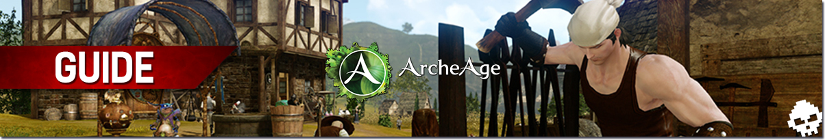 Guide ArcheAge BABA artisanat Banner