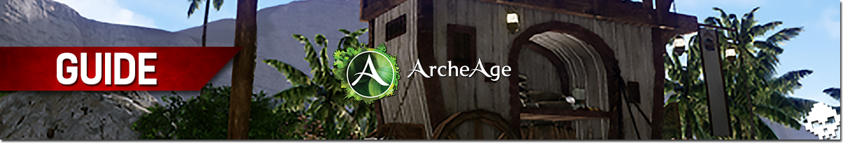 Guide ArcheAge Commerce haranya Banner