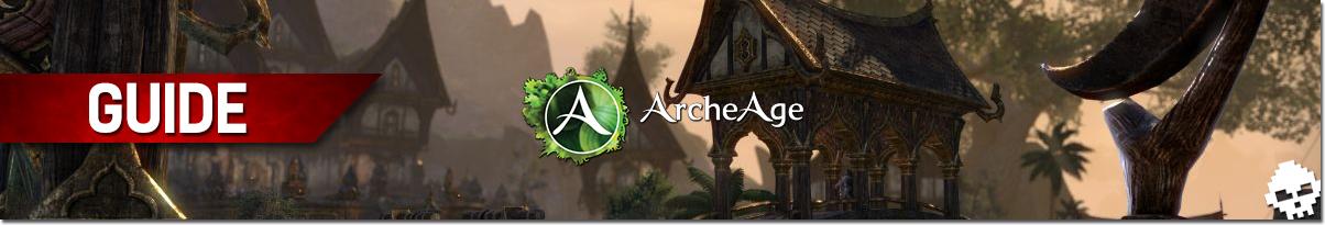Guide ArcheAge Confection Banner