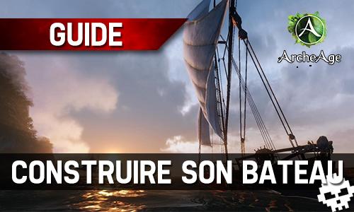 comment réparer bateau archeage