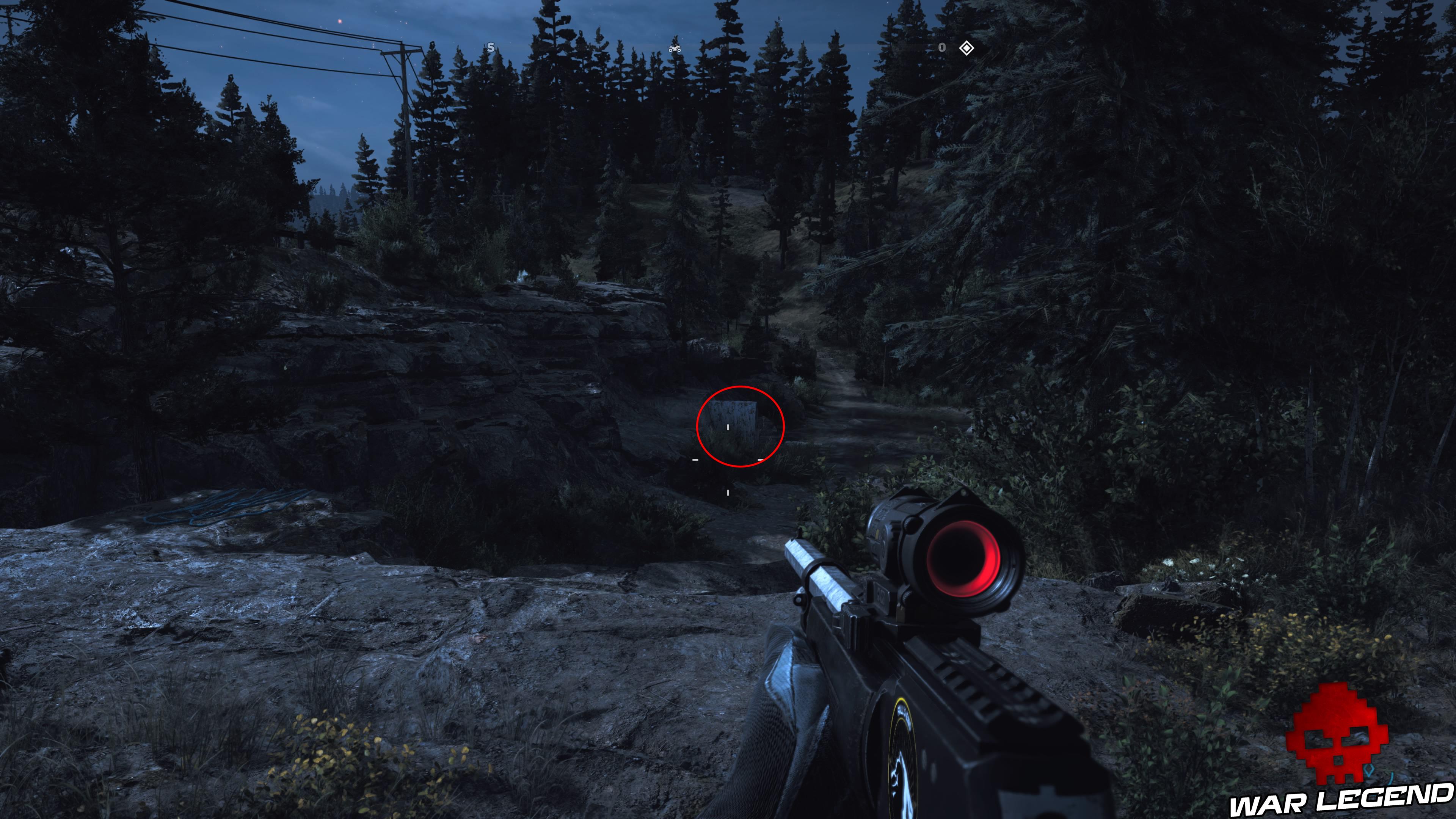 Guide Far Cry 5 caches survivalistes région de John entrée égouts