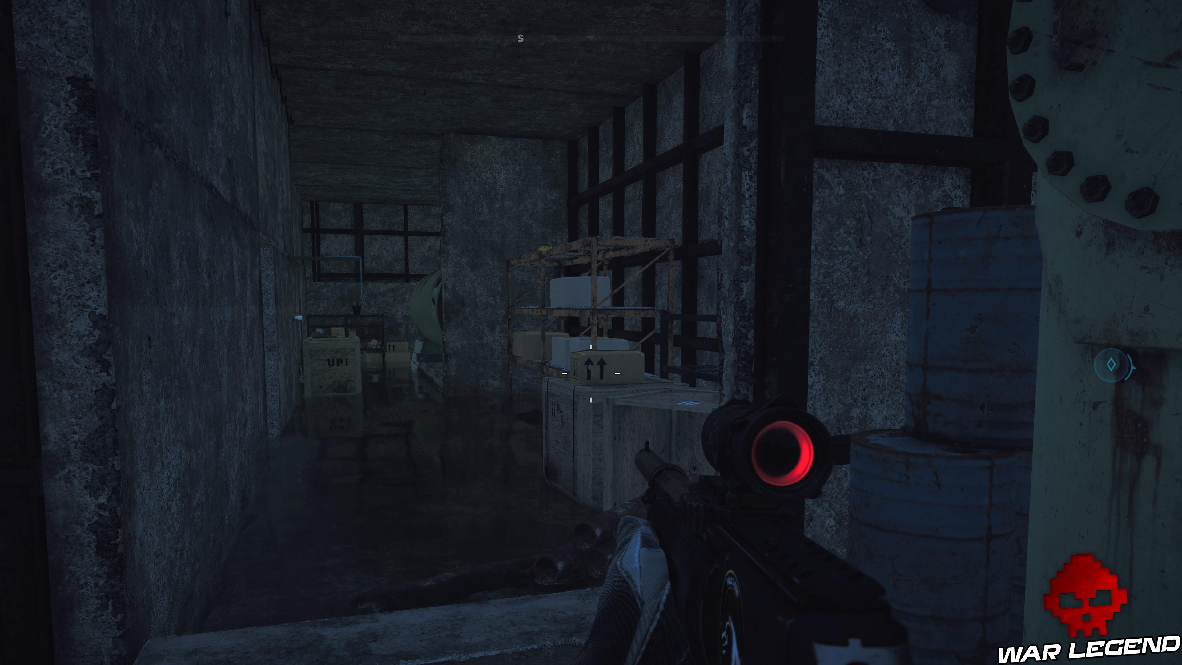 Guide Far Cry 5 caches survivalistes région de John chemin de caisses et d'étagères